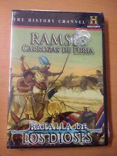 RAMSES´S RAPING CHARIOTS DVD HISTORY CHANNEL RAMSES CARROZAS DE FURIA REGION 1&4