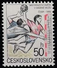 Tjechoslowakije postfris 1990 MNH 3037 - WK Handbal