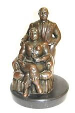 Bronze Sculpture After Fernando Botero European Bronze Foundry Vintage
