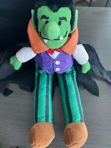 1997 Dracula Plush Gibson Greetings Universal Monsters Horror Halloween
