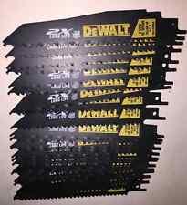 """DeWALT 6"""" 6TPI Recip Blade Wood W/Nails - DWA4166  (25 Pack)"""