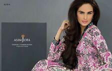 Asim Jofa Silk 2014 Stiched LARGE Size Pakistani Designer