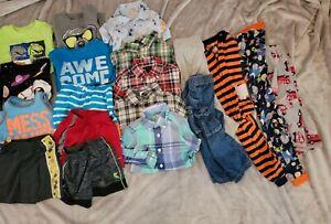 Boys 2 2T Spring Summer Carter's Nike Garanimals Shirts Shorts Pjs 19pc Lot