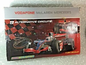 Micro Scalextric Official Licensed Lewis Hamilton Vodafone McLaren Mercedes Set