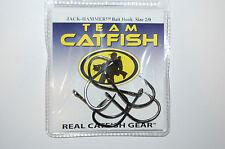 team catfish hooks real gear hook jack hammer size 2/0  black nickel