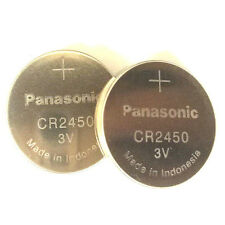 **FRESHLY NEW** 2x Panasonic CR2450 Lithium Battery 3V Coin Cell Exp 2024