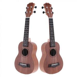 21 Inch Ukulele Soprano Concert Ukelele Sapele 15 Fret Four Strings Music Gift