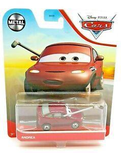 Disney Pixar Cars Metal ANDREA w/ Microphone Car