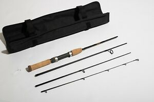 """St Croix Travel Rod Ultra Lite fast action spinning TRS56ULF4 4 Piece 5'6"""""""