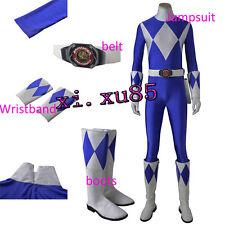Hot COSTricera Ranger Dan Cosplay Costume Jumpsuit Boots Gloves Customize Unisex