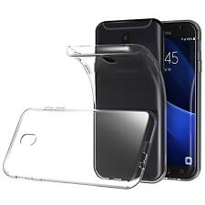 COVER CUSTODIA PER SAMSUNG GALAXY J3 2017 J330 MORBIDA TRASPARENTE ULTRA SLIM
