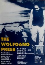 Wolfgang Press - 1992-tourplakat-Concert-Queer - Tourposter