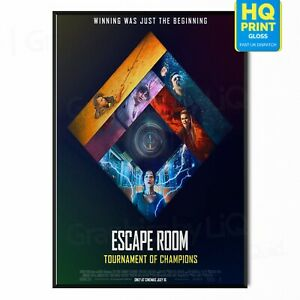 Escape Room: Tournament of Champions Movie 2021 Poster | A5 A4 A3 A2 A1 |