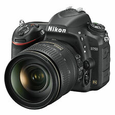 Nikon D750 Camera and 24-120mm VR Lens