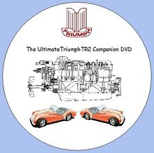 Triumph TR2 Companion DVD Workshop Manuals, Parts Lists, Tuning Manual