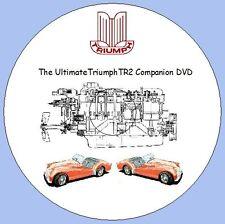 Triumph TR2 Companion DVD Workshop Manuals, Parts Lists, Tuning Manual