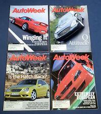 4 Autoweek Magazines 2001 March 5 12 19 26 Mercedes C230 Porsche GT2 InfinityQ45