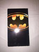 BATMAN CLASSIC MOVIE VHS TAPE CASSETTE JACK NICHOLSON KEATON 1989