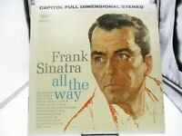 "Frank Sinatra "" All The Way"" Capitol Records LP SW 1538 VG+ cover VG+"