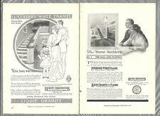 1915 BERRY BROTHERS advertisements x2, white enamel paint ads x2