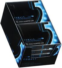 Wrigley's- 5 Gum, 10/15 Piece Packs - Sugar Free - Cobalt
