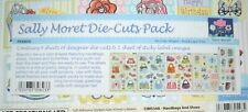 4 x A4 Die Cut Designer Topper Sheets & 1 Sheet of Sticky Label Images