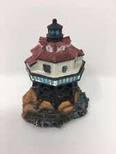 Lighthouse Collection (Lh08) Thomas Point, Md Lighthouse Figurine Collectible