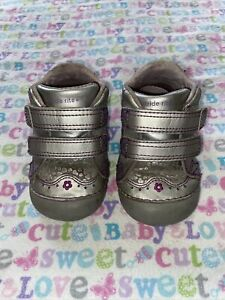 Stride Rite Baby Girl Shoes Sz 4.5m Gloria Leather