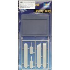Bandeja Masilla Trumpeter Hobby Herramienta de Modelado y 5 Aplicadores-herramientas Tru09922