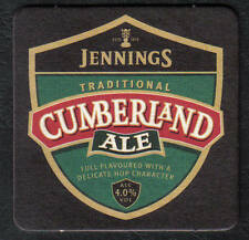 Beermats Coasters British Jennings Cumberland Ale, Unused beermat (z022)
