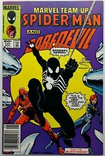 Marvel Team-Up 141 Newsstand 8.0-8.5 Spider-man Daredevil Black Costume 1984