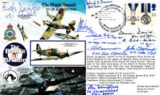 50th Anniversary Battle of Britain Major AssaultSigned 8 Battle of Britain & 1 W