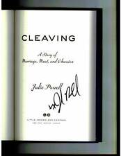 Julie & Julia author Julie Powell signed Cleaving 1st printing hardcover book