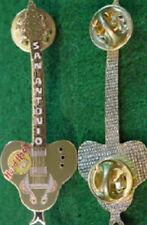 Hard Rock Cafe SAN ANTONIO 1999 Snake Guitar PROTOTYPE PIN Waffle Pattern Back