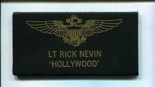 HOLLYWOOD NEVEN TOP GUN MOVIE US Navy Squadron Flight Suit Jacket Name Tag Patch