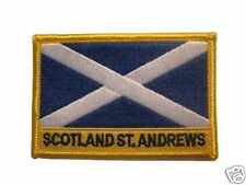 Scotland Embroidered Flag patch-Iron on orSew