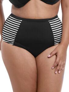 4XL(22) Elomi Malibu Days Bikini Brief Classic Mid Rise 7635 Fully Lined Bottoms