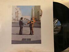 Pink Floyd – Wish You Were Here LP 1975 Harvest SHVL 814 - ULTRASONIC CLEAN!