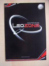 Leozone Electric Vehicles (Leo: S-15, EV3...) Prospekt / Brochure, Korea, 2007?