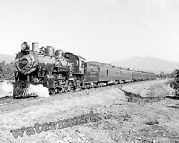 Photograph of a A.T. & S.F Steam Engine # 1271 Year 1910 circa  8x10
