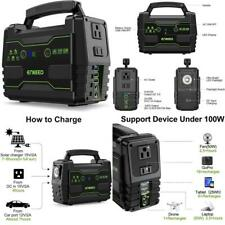 Power Station 155 Wh Portable Charger Lithium Backup Battery Pack 110V 100W