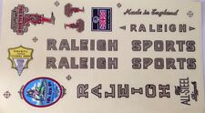Raleigh Vintage Bicycle Stickers