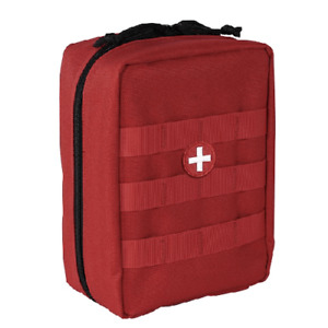 Voodoo Tactical Enlarged EMT Pouch Red 15-9795016000
