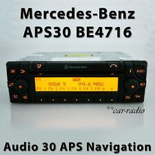 Original Mercedes Audio 30 APS BE4716 Navigationssystem Becker Radio APS 30 Navi
