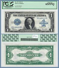 1923 $1 Silver Certificate PCGS 65 PPQ Gem New Unc One Dollar Large-size Note