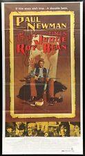"Original LIFE & TIMES OF JUDGE ROY BEAN 3 Sheet 41 x 81"" PAUL NEWMAN Western"