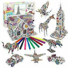 Art and Crafts Kit for Kids Girls Boys, Toys Gifts for 4 -11 Year Olds Girls 3D