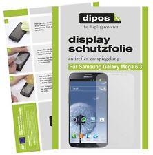 Samsung Galaxy Mega 6.3 Schutzfolie matt Displayschutzfolie Folie Antireflex 1A