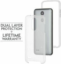 CaseMate Naked Tough Case for LG Fortune 2/Aristo 2/Tribute/Phoenix 3 - Clear