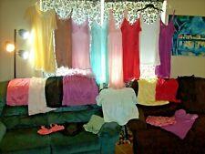 Vintage 21 Pc Lot 2nds, Repair Nylon Slips Nighties Cami Panty Lingerie #1